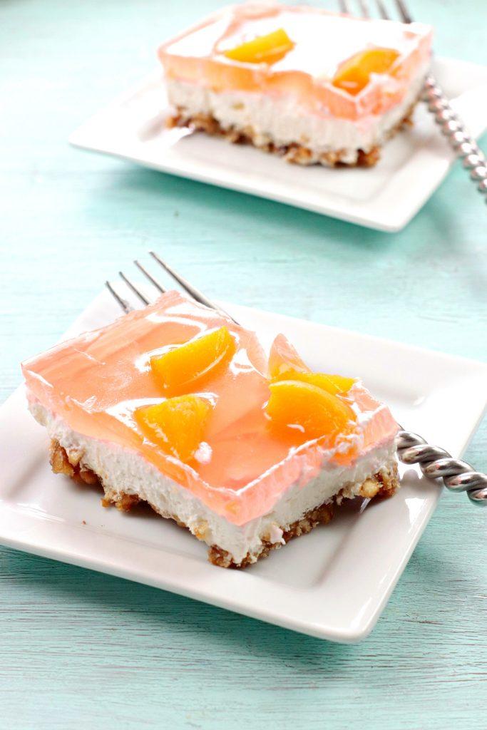 The Best Peach Jello Salad