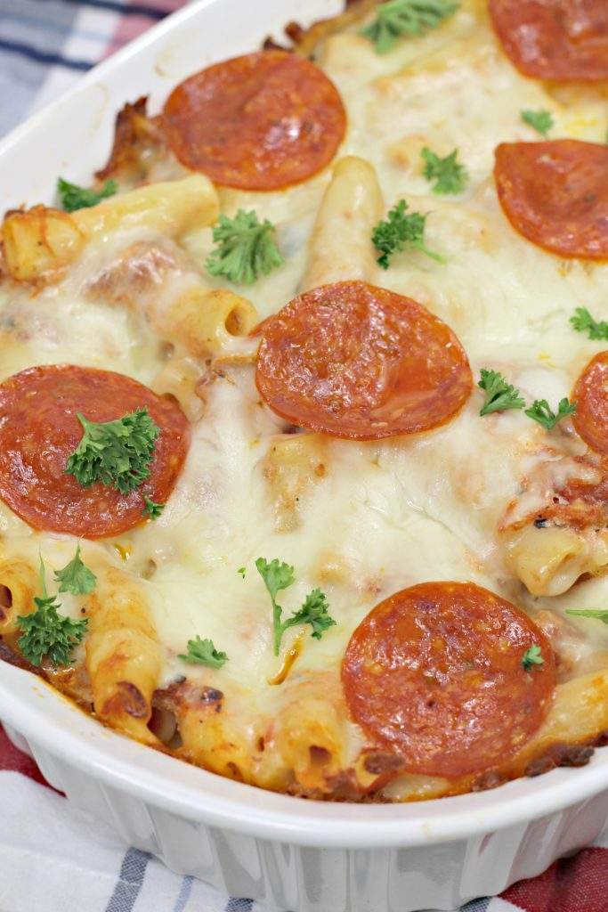 The Best Delicious Baked Ziti Pasta