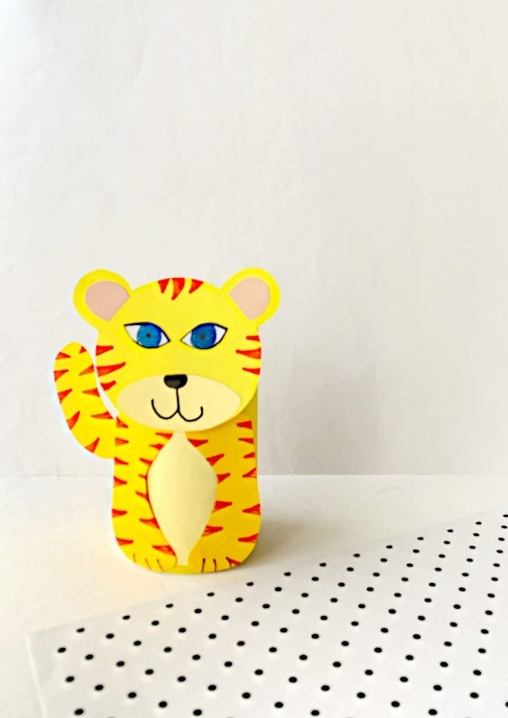 How to Make Your Own Toilet Paper Roll Tiger