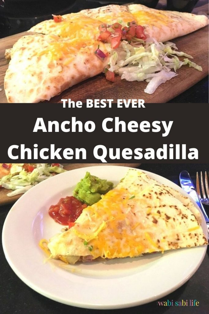 How to Make Ancho Cheesy Chicken Quesadillas
