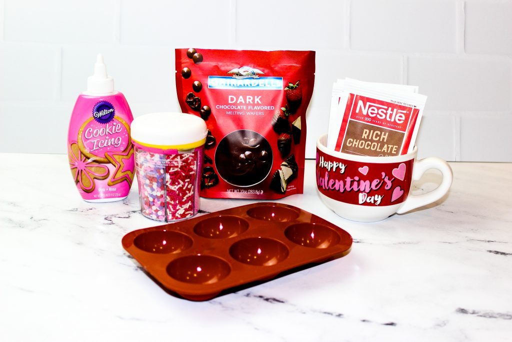Ingredients needs to make Hot Cocoa Bombs