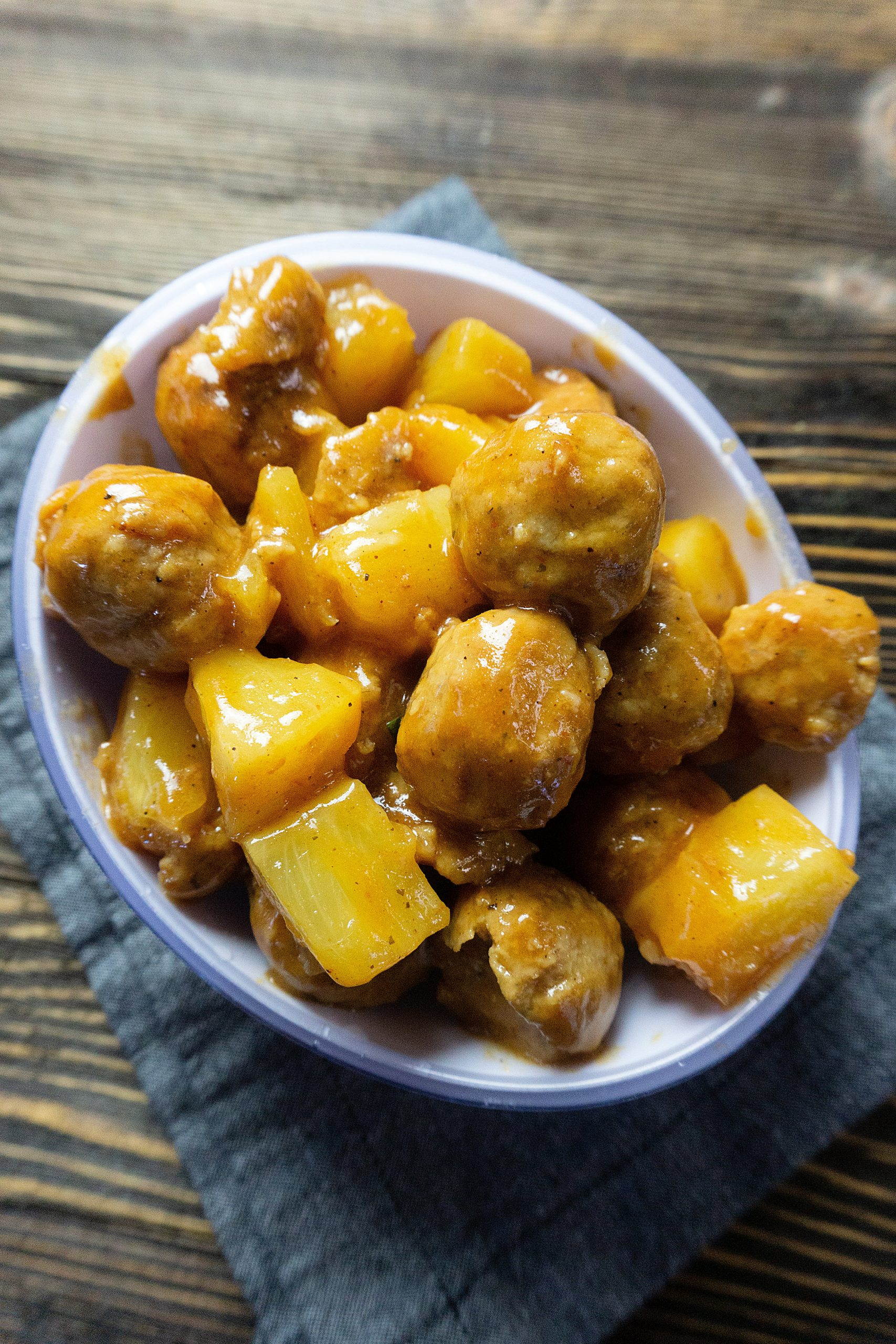 The Best Pineapple Meatballs Recipe - IP, Stove or Slow Cooker