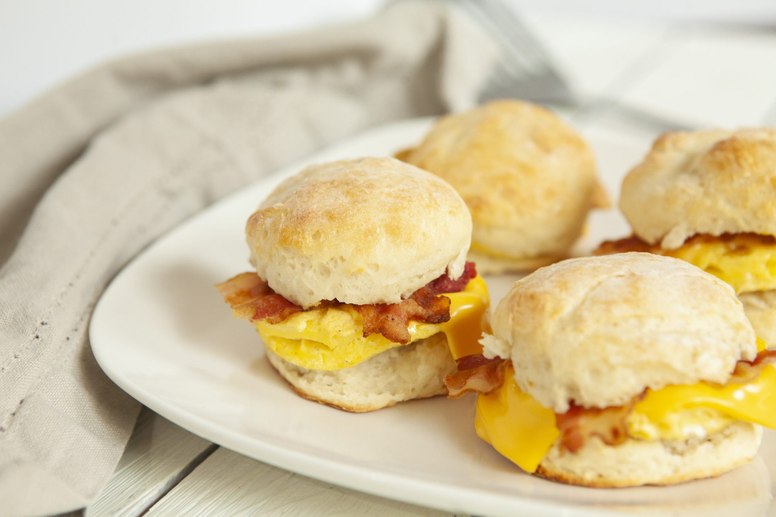 Weight Watchers Bacon, Egg and Cheese Biscuit