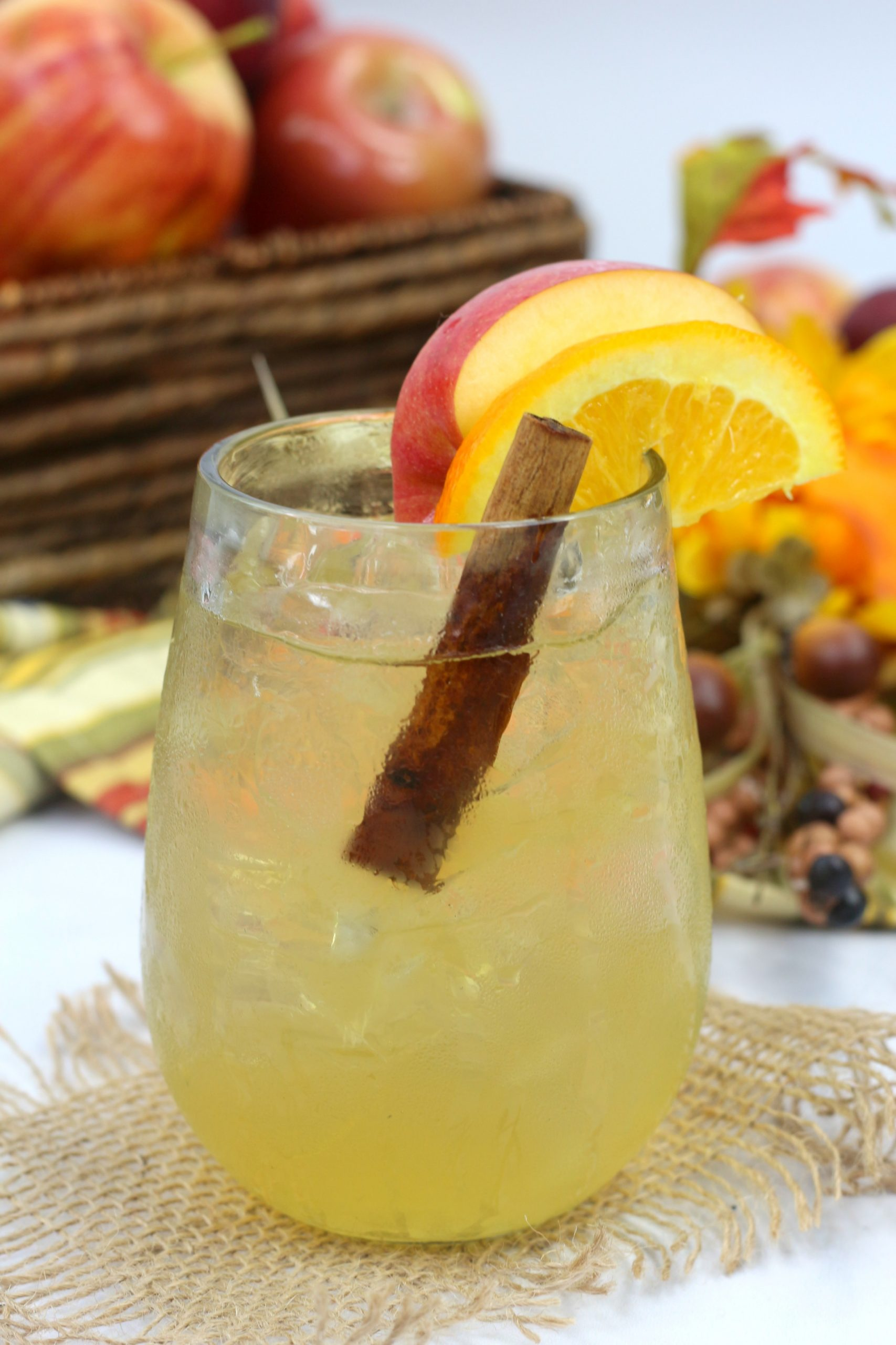 Apple Cider Old Fashioned Cocktail Recipe