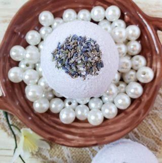 Lavender Eucalyptus Bath Bombs