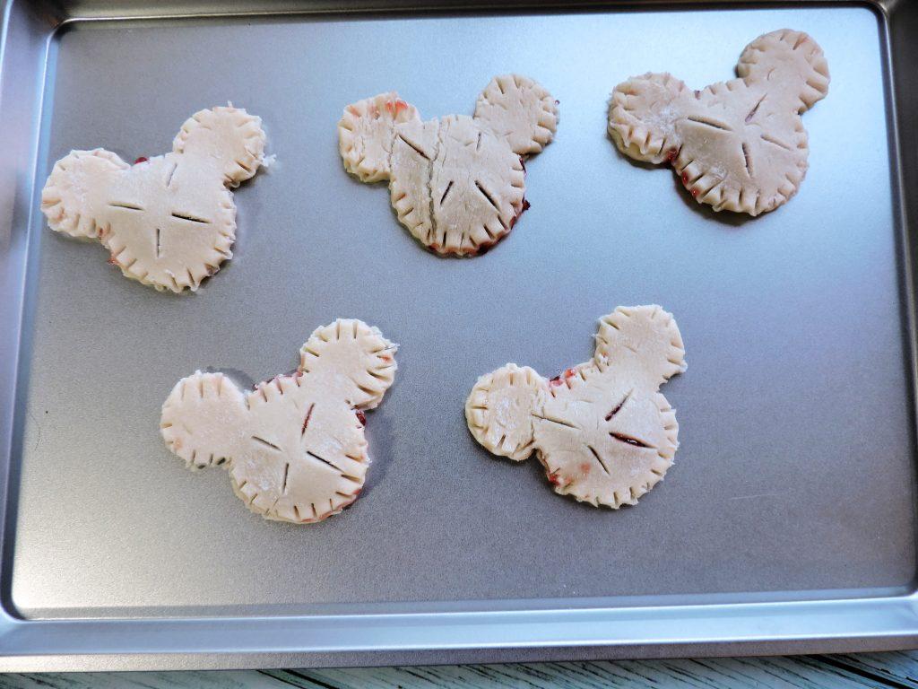 bake pie crust cookies