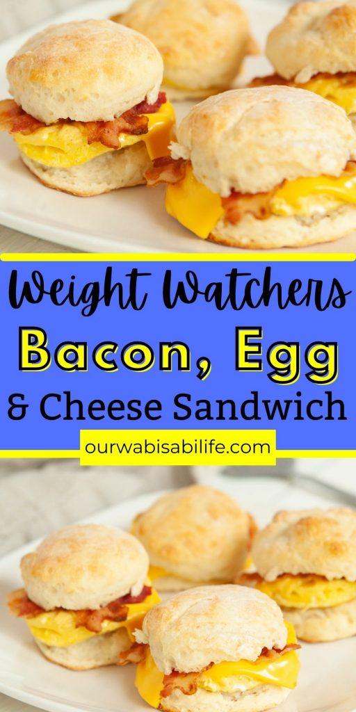 weight watchers breakfast sandwich sandwiches