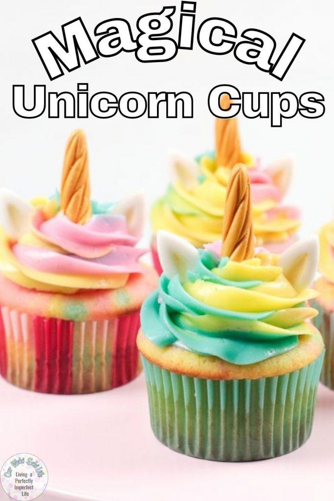 unicorn cupcakes pinterest image