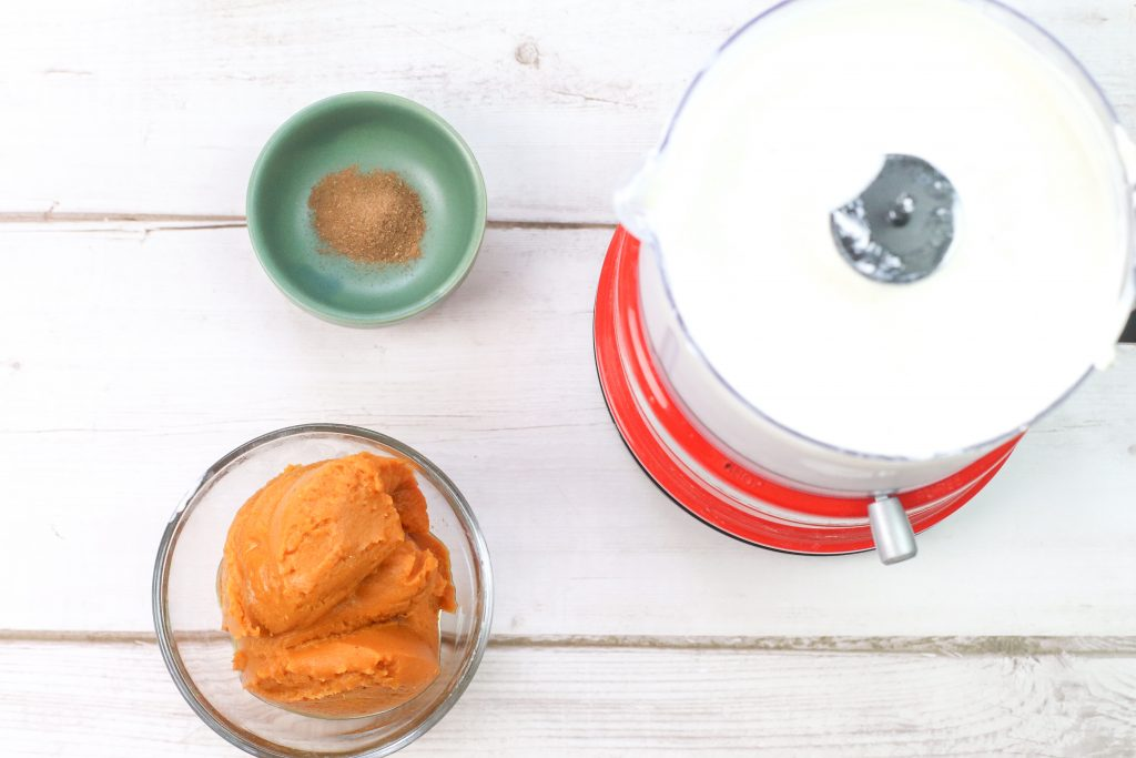 the start of the ice cream